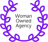 woman owned agency badge