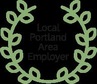 local portland area employer badge