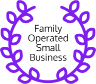 family operated small business badge